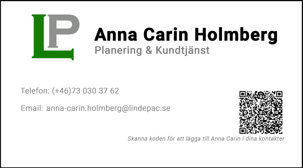 Anna Carin Holmberg